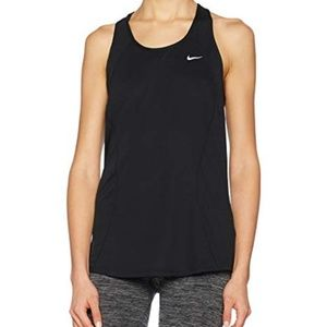 Nike Dri-Fit Ladies Work Out Black Top XL Athletic
